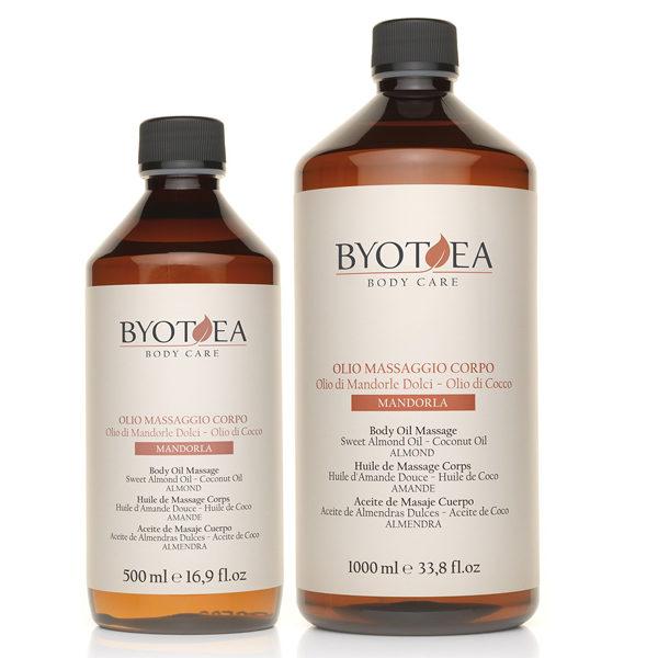 Olio Massaggio Corpo alla Mandorla Byothea - 500 ml - carisbassano 94c7feec1659