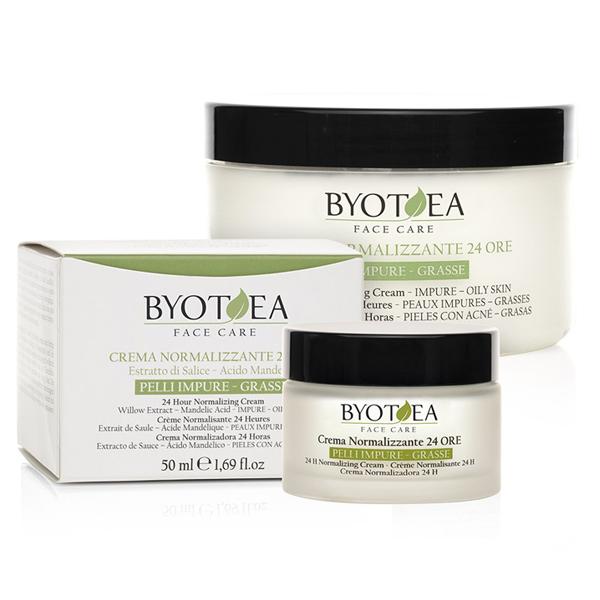 Crema viso normalizzante 24 ore Byothea - 50 ml - carisbassano 4033804e2ea4